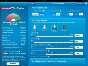 Tax Refund Calculator Taxcaster