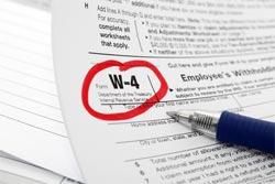 2014 W 4 Tax Form