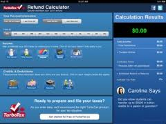 TurboTax Tax Refund Calculator